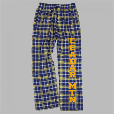 Cedar Mountain PJ Pants Screenprint or Glitter