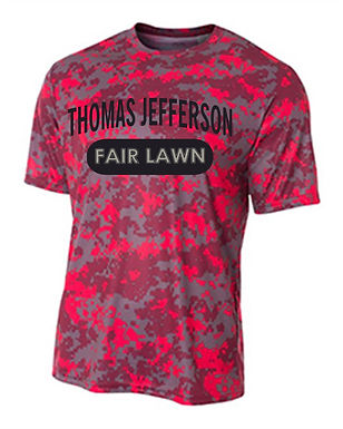 Thoms Jefferson Camo Performance T