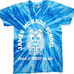 James Monroe Tye Dye