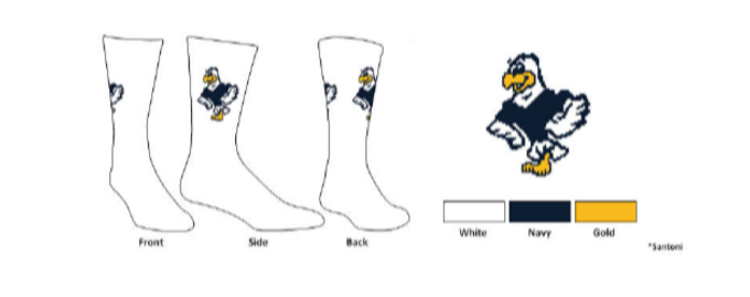 Augusta Custom Socks