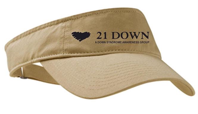 21 Down Visor