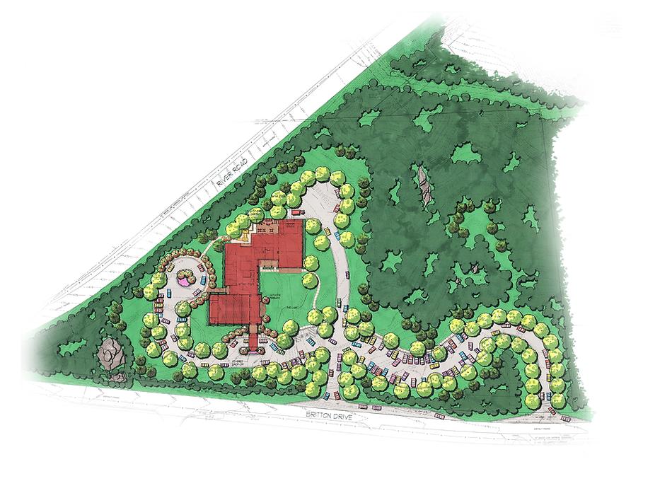 Grace Church Columbus - Site Plan