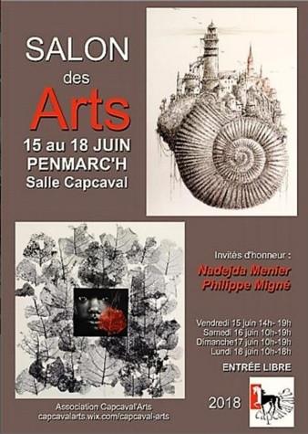 Salon des arts Penmarch(29) 15 au 18/06/2018