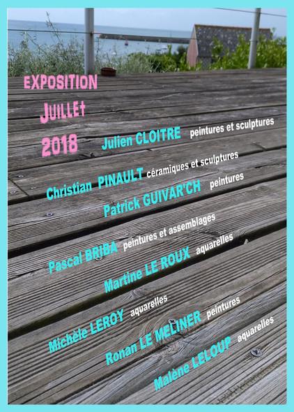 La galerie29 Audierne(29) 01/07 au 31/07/2018