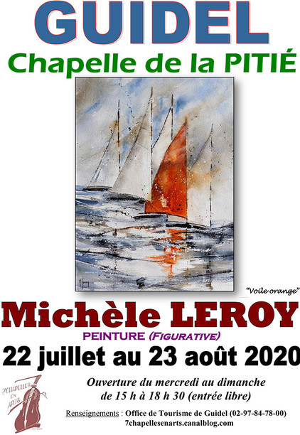 Exposition Chapelles en Arts Guidel(56)