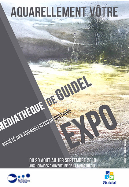 Aquarellement vôtre Guidel(56) 20/08 au 01/09/2018