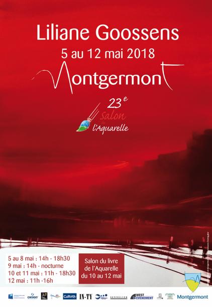 Salon de l'Aquarelle Montgermont(35) 05 au 12/05/2018