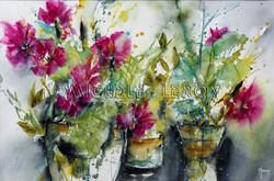 Fleurs en abondance