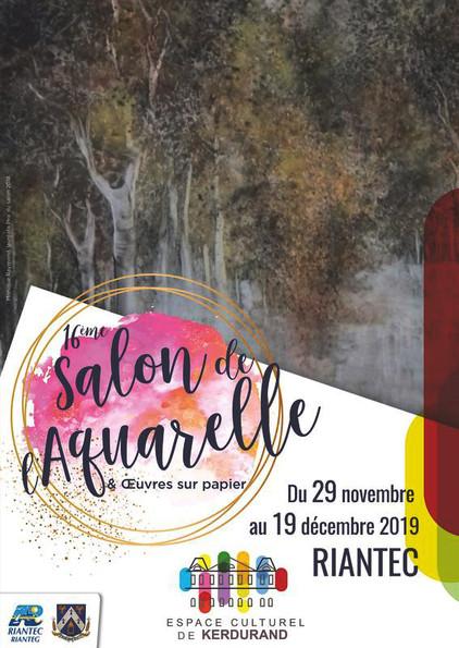 16e Salon de l'aquarelle-56 Riantec