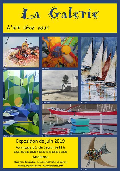 Exposition la galerie Audierne ( 29)