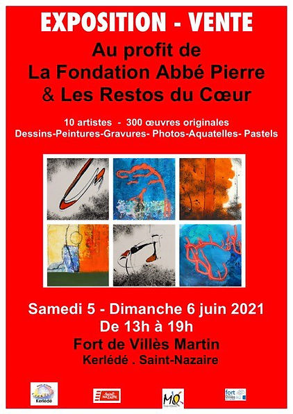 exposition les artistes Fort villès-Mart