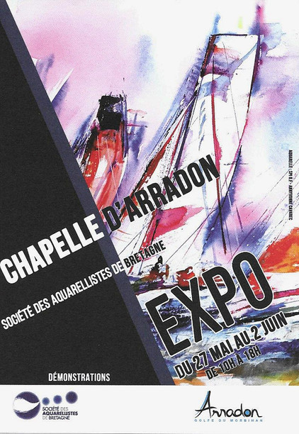 Exposition chapelle d'Arradon 2019  (56)