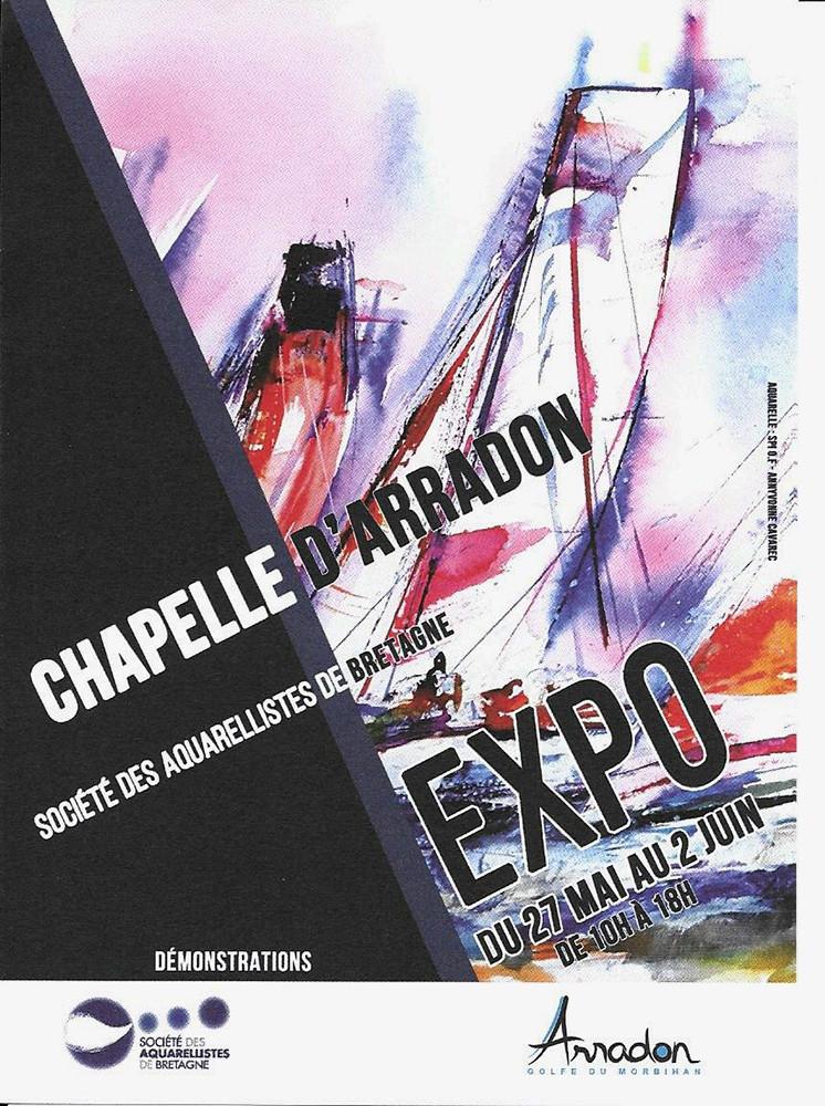 Exposition chapelle d'Arradon 2019  (56)