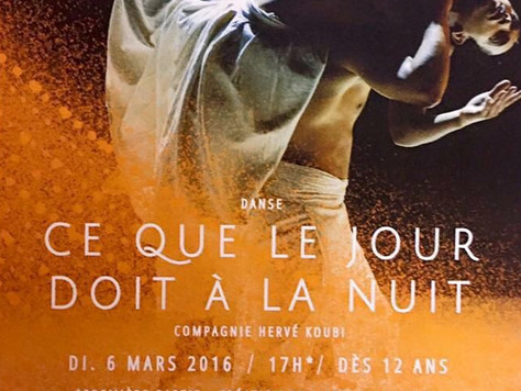 """1ère partie du spectacle de Hervé Kourbi, """"Ce que le jour doit à la nuit"""", Le Reflet Théât"""