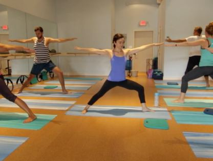 YogaBarre with MJ