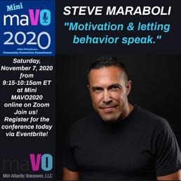 Steve Maraboli - Featured Speaker