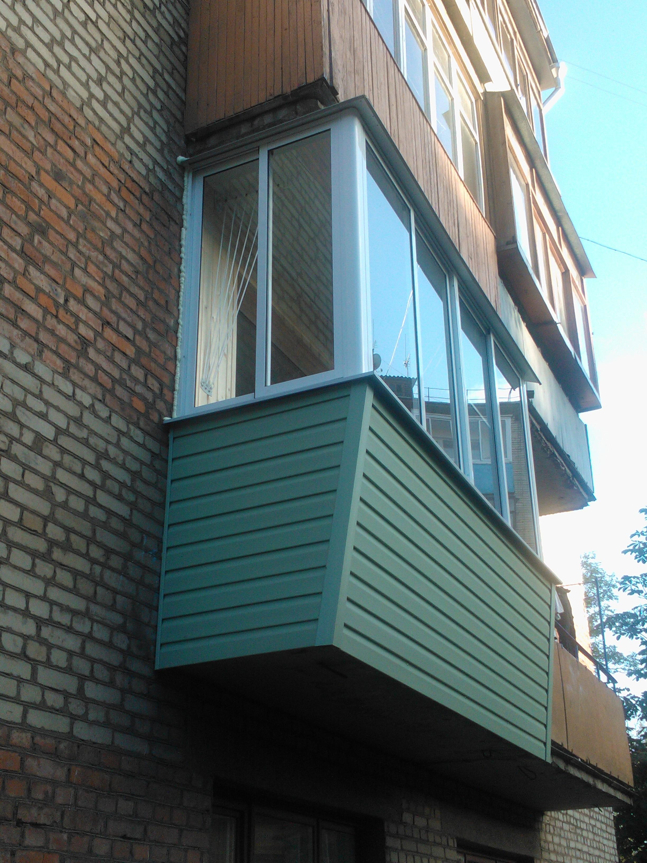 Выносной балкон, Тула.