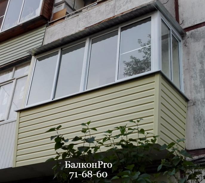 Стильный классический балкон. Тула.