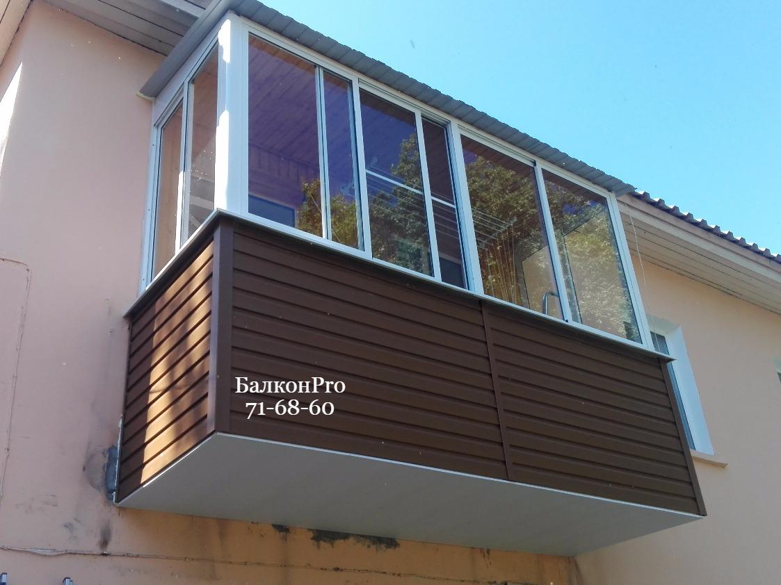 Балкон после ремонта.