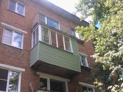 Выносной балкон со шкафом