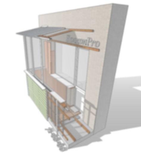 остекление балкона тула