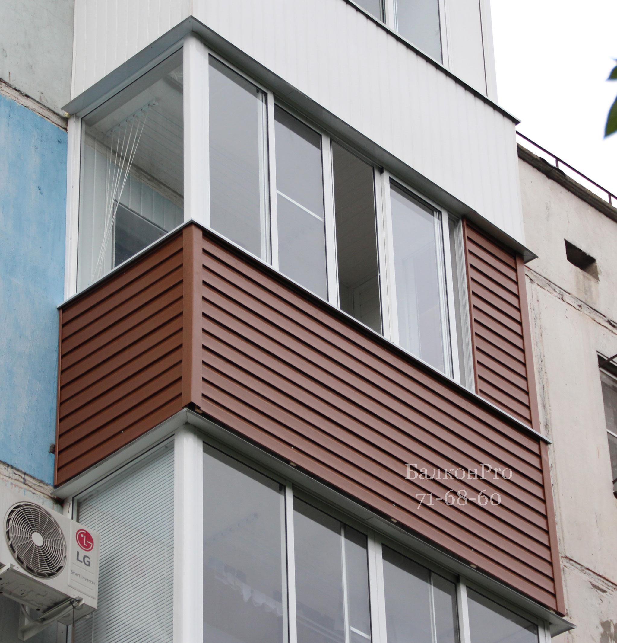 Яркий, красивый балкон. Тула