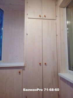 Встроенная мебель для балконов и лод