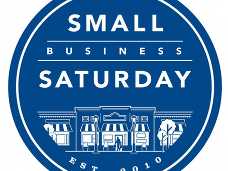 "Saturday, November 24th is ""Shop Small Business Saturday"""