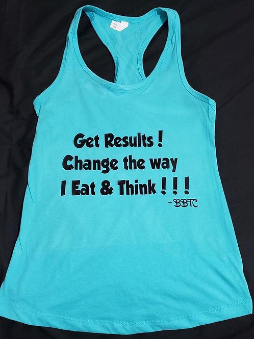 Get Results Tank Top (Sports-Bra Back)