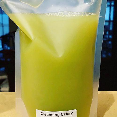 Cleansing Celery Juice