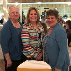 Rosie Cherry, Candy Zavala, and Linda Doege