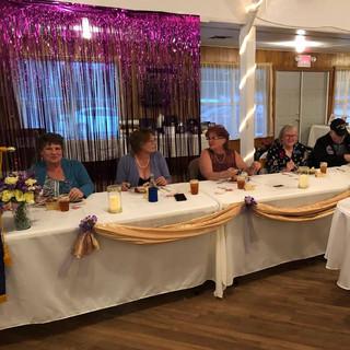 Linda Doege, Lori Doege, Joyce Zaiontz, Garland, Linda Nye and Robin Strzelczyk