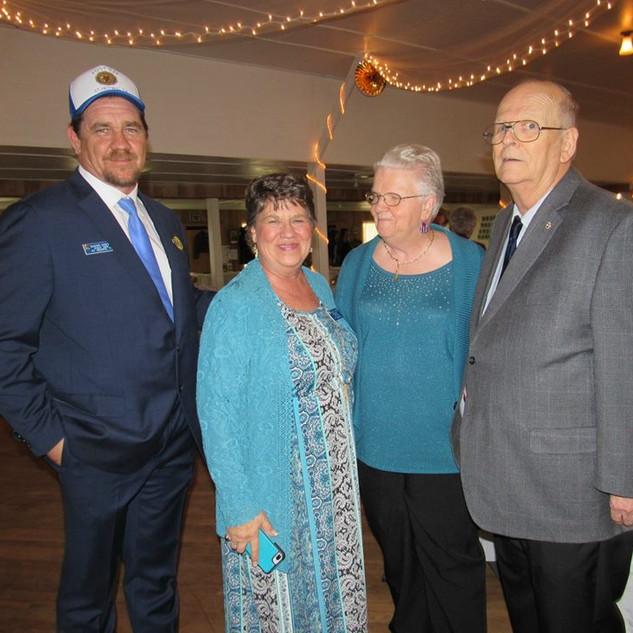 Shwn Doege, Linda Doege, Ron and Rosie Cherry