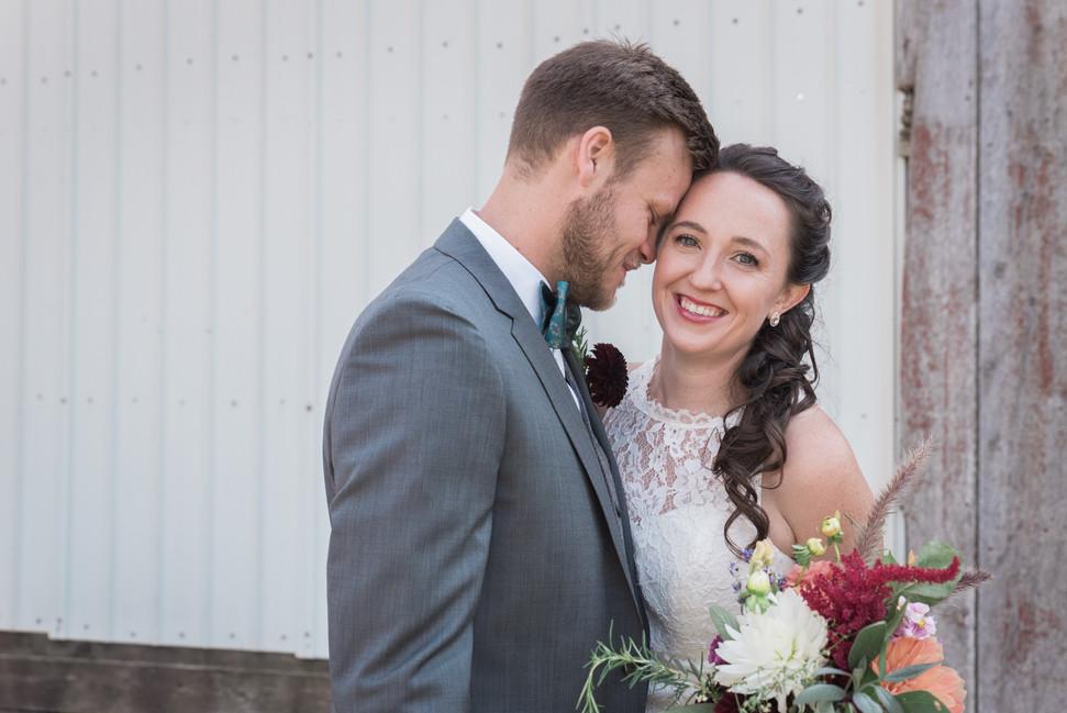 Wedding Photo - Settlement Hills Farm -Hudson Wisconsin