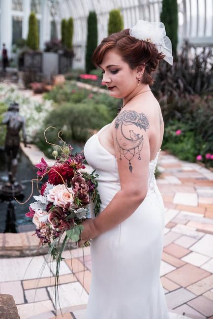 Wedding Photography - Como Park Conservatory - Roseville Minnesota