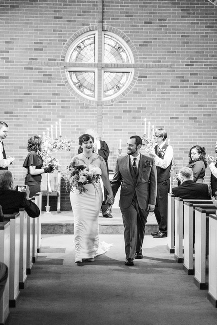 Wedding Photography - Christ Presbyterian - Edina Minnesota
