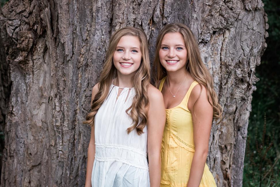 Twins Senior Portrait - Minneapolis