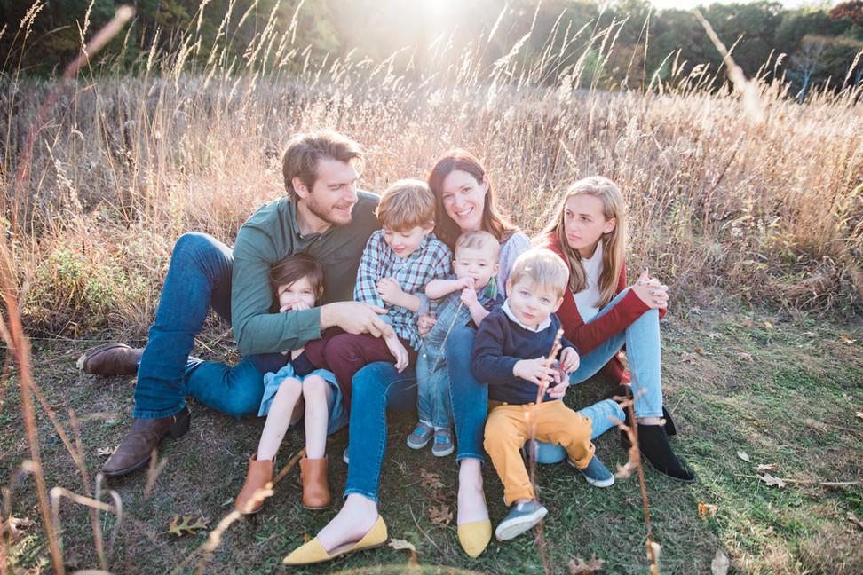 Family Portrait - White Bear Lake Minnesota
