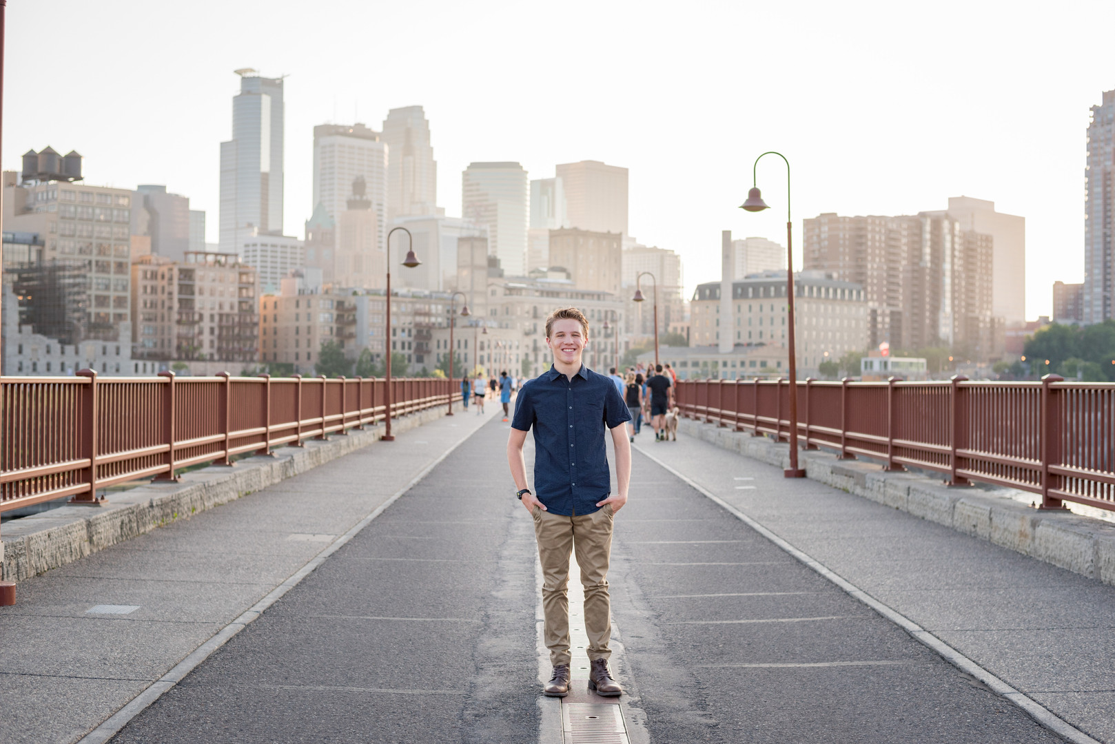 Senior Portrait - Stone Arch Bridge