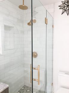Classy Sleek Bathroom Remodel