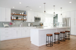 Coastal Industrial Kitchen Remodel