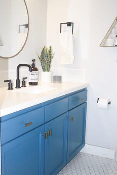 Coastal Bathroom Update