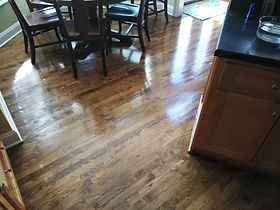 Willis flooring recoated