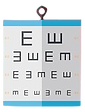 92218937-eye-test-chart-flat-icon-with-l