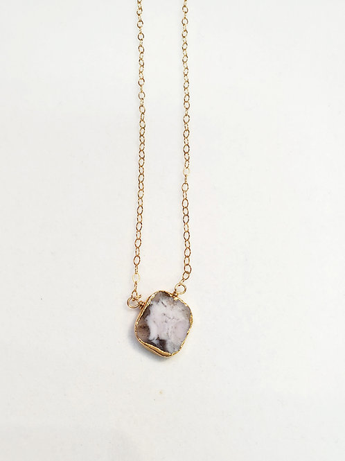 Delicate layering necklaces by Rustic Gem