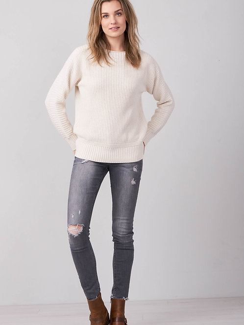 Repeat Chunky Cotton Boatneck