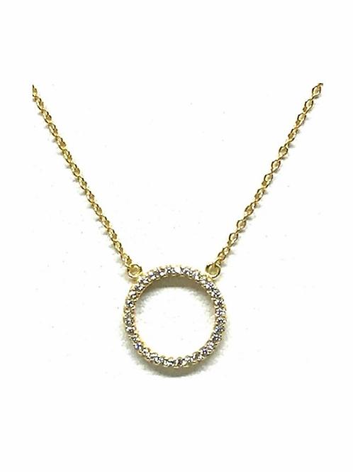 Athena Circle Necklace