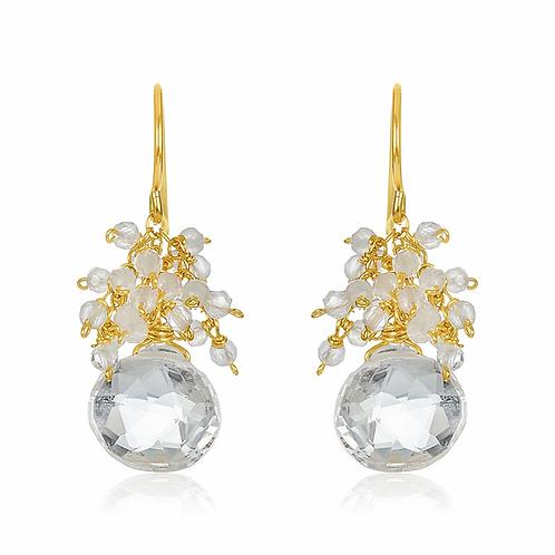 Mabel Chong Cluster Earrings