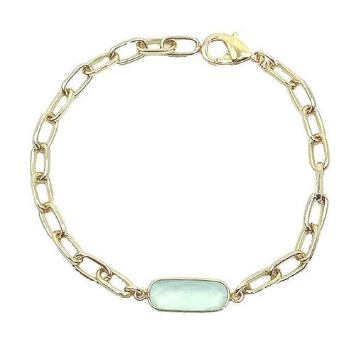 Gemstone bracelets by Athena Jewelry