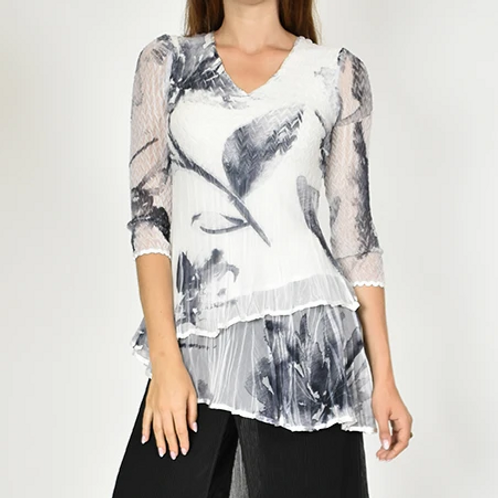 Komarov Layered Blouse